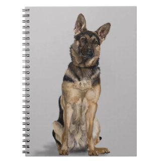 German Shepherd Spiral Note Book
