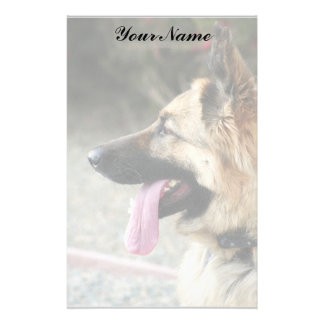 German Shepherd Stationary Stationery