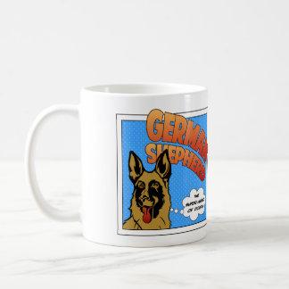 German Shepherd - Super Hero Coffee Mug