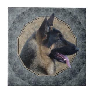 German Shepherd Tile