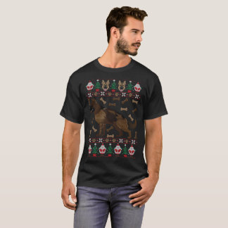 German Shepherd Ugly Christmas Sweater Funny
