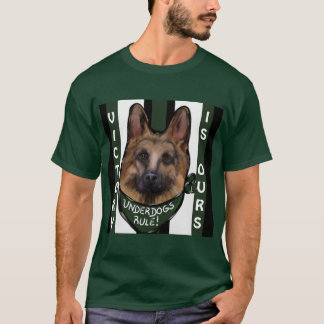 German Shepherd Underdog T-Shirt