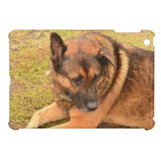German Shepherd with One Floppy Ear iPad Mini Case