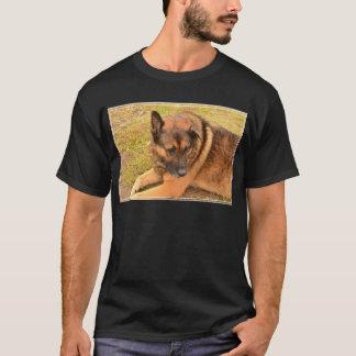 German Shepherd with One Floppy Ear T-Shirt