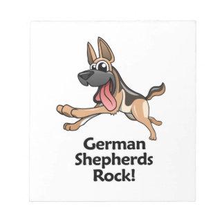 German Shepherds Rock! Notepad