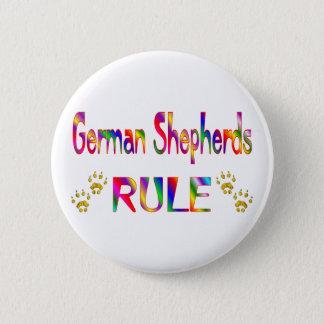 German Shepherds Rule 2 Inch Round Button