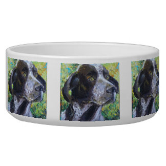 German Short Hair Dog Bowl