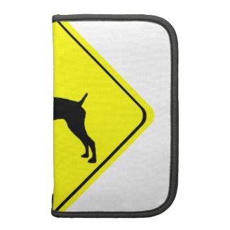 German short-Haired Pointer Dog Crossing Sign Organizer