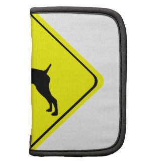 German short-Haired Pointer Dog Crossing Sign Planner
