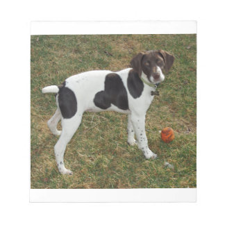 German_short_haired_pointer_puppy Notepad