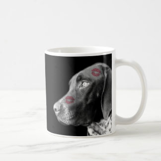 GERMAN SHORTHAIR POINTER WEIM LOVE MUG