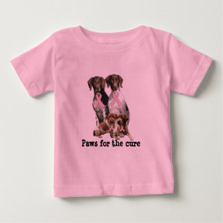 German Shorthaired Breast Cancer Toddler Shirt