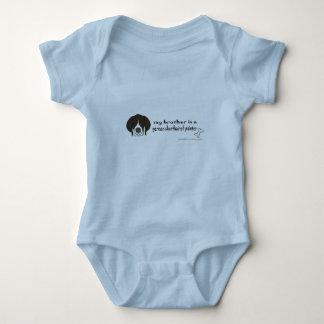 german shorthaired pointer baby bodysuit