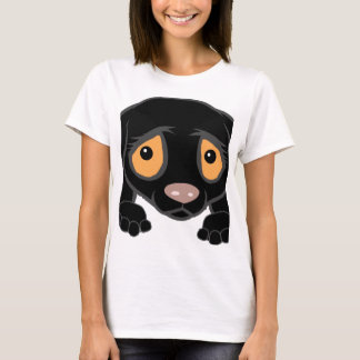 german shorthaired pointer black peeking T-Shirt