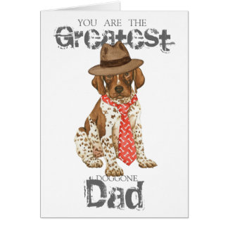 German Shorthaired Pointer Dad Card