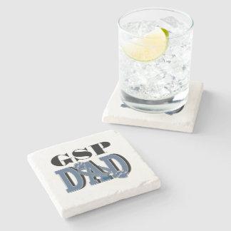 German Shorthaired Pointer DAD Stone Coaster