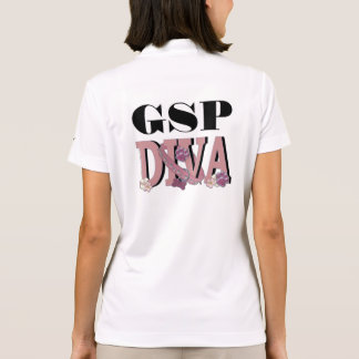 German Shorthaired Pointer DIVA Polo Shirt