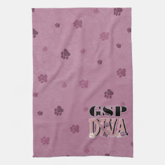 German Shorthaired Pointer DIVA Towel