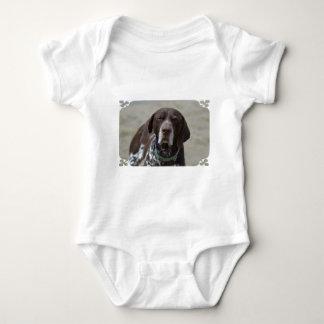 German Shorthaired Pointer Dog Baby Bodysuit