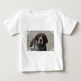 German Shorthaired Pointer Dog Baby T-Shirt