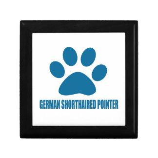 GERMAN SHORTHAIRED POINTER DOG DESIGNS GIFT BOX
