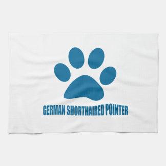 GERMAN SHORTHAIRED POINTER DOG DESIGNS KITCHEN TOWEL