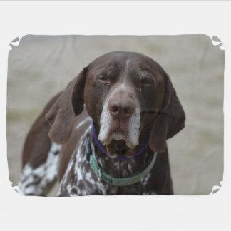 German Shorthaired Pointer Dog Stroller Blanket