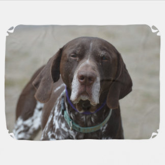 German Shorthaired Pointer Dog Swaddle Blankets