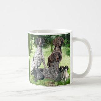 German Shorthaired Pointer Family Mug