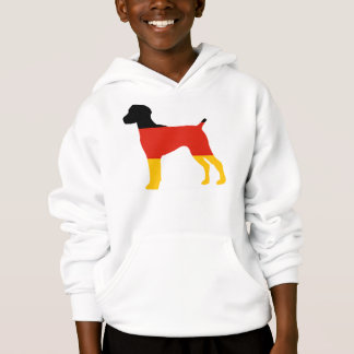 german shorthaired pointer flag silo germany-flag.