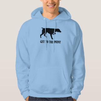 "German Shorthaired Pointer ""Get to the Point"" Hoodie"