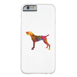 German Shorthaired Pointer in watercolor Barely There iPhone 6 Case
