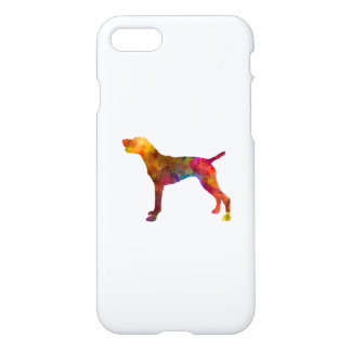 German Shorthaired Pointer in watercolor iPhone 8/7 Case