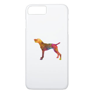 German Shorthaired Pointer in watercolor iPhone 8 Plus/7 Plus Case