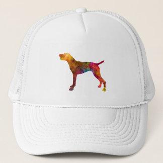 German Shorthaired Pointer in watercolor Trucker Hat