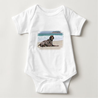 German Shorthaired Pointer - Luke - Riley Baby Bodysuit