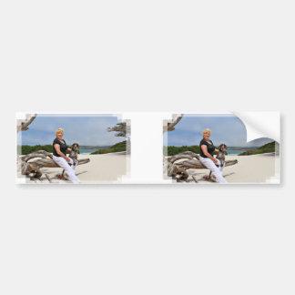 German Shorthaired Pointer - Luke - Riley Bumper Sticker