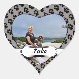 German Shorthaired Pointer - Luke - Riley Heart Sticker