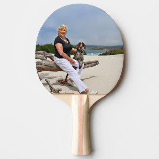 German Shorthaired Pointer - Luke - Riley Ping Pong Paddle