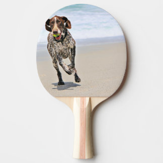 German Shorthaired Pointer - Luke - Riley Ping-Pong Paddle