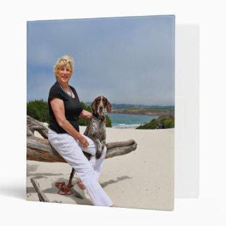 German Shorthaired Pointer - Luke - Riley Vinyl Binder
