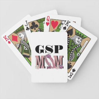 German Shorthaired Pointer MOM Bicycle Playing Cards