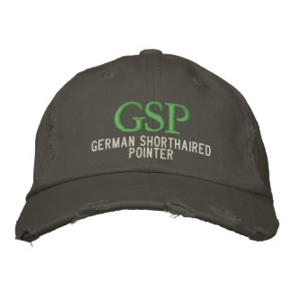 German Shorthaired Pointer Monogram Embroidered Hat