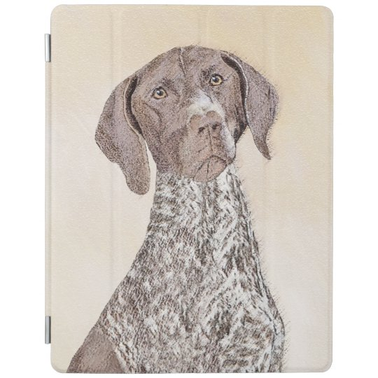 German Shorthaired Pointer Painting - Dog Art iPad Cover