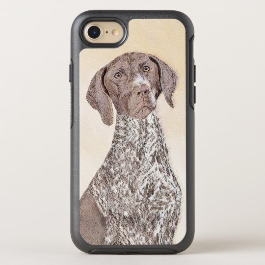 German Shorthaired Pointer Painting - Dog Art OtterBox Symmetry iPhone 8/7 Case