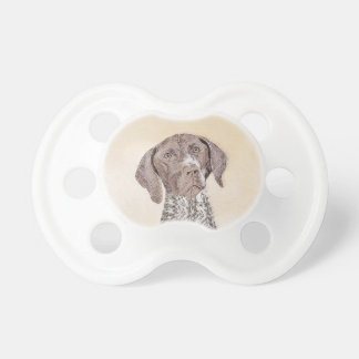 German Shorthaired Pointer Painting - Dog Art Pacifier