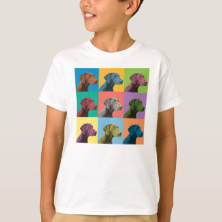 German Shorthaired Pointer Pop-Art Kids T-Shirt