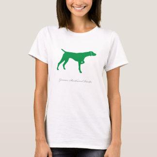 German Shorthaired Pointer T-shirt (green v2)