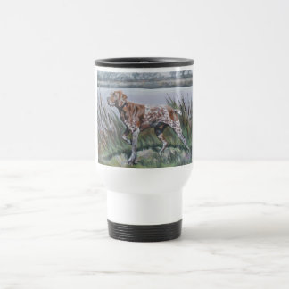 German Shorthaired Pointer travel mug gsp