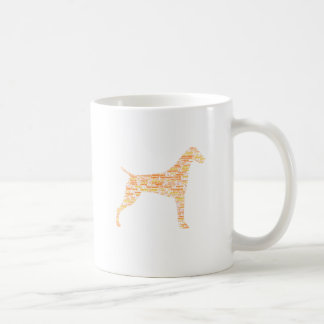 German Shorthaired Pointer Typography Coffee Mug